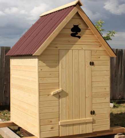 Продам: Деревянный туалет для дачи