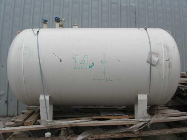 Продам Газгольдер 1400 литров, наружный, новый