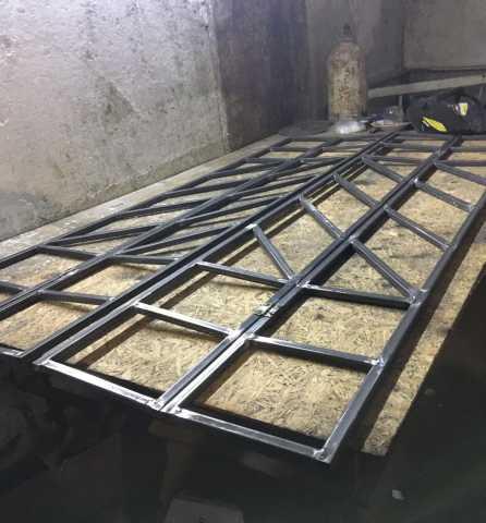 Продам Раздвижные решетки, двери из металла
