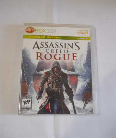 Продам xbox 360 assassins creed rogue
