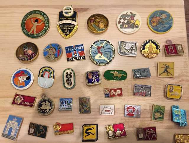 Продам Значки СССР разные