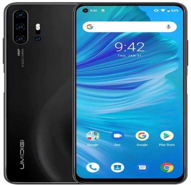 Продам Смартфон umidigi f2 6/128gb, black