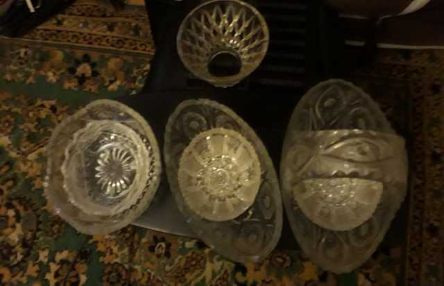 Продам хрусталь посуда