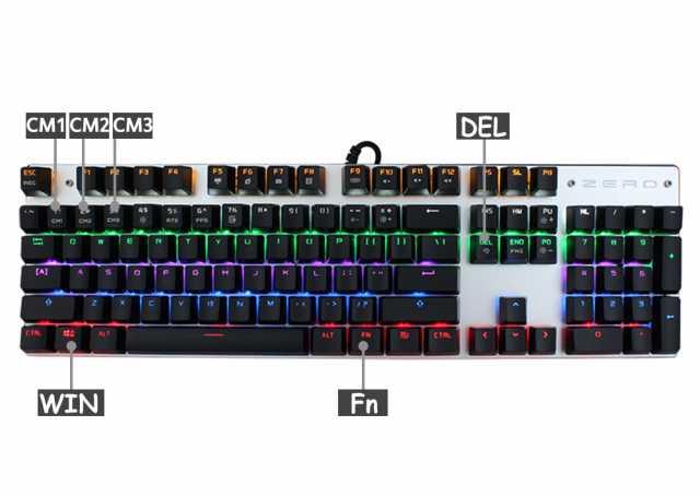 Продам: Механическая игровая клавиатура ME TOO Z