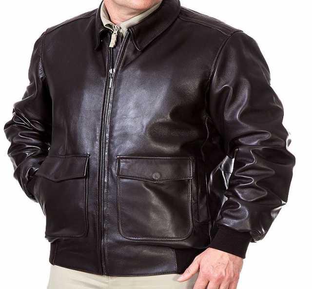 Продам: Лётная кожаная куртка