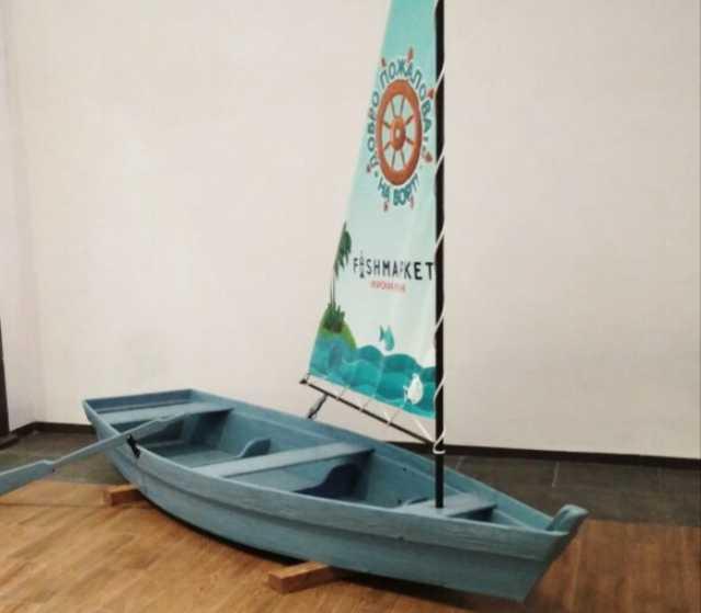 Продам: Лодка с парусом интерьерная