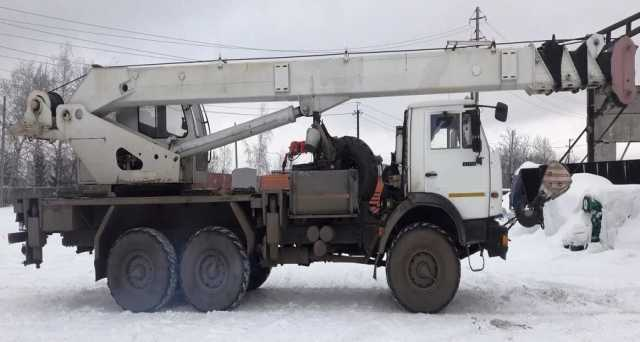 Продам Продам автокран 25 тн-28м,КАМАЗ-43118