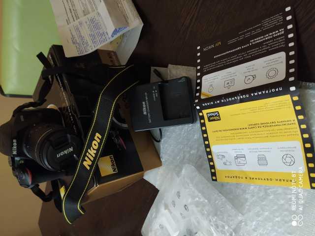 Продам Фотоаппарат Nikon d3500 vr