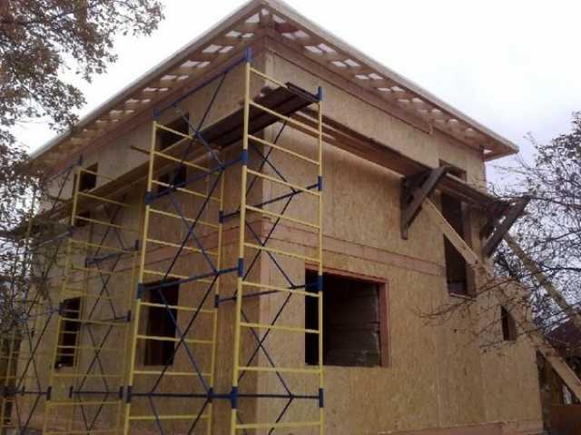 Продам: Коробка дома коттеджа из сип панелей