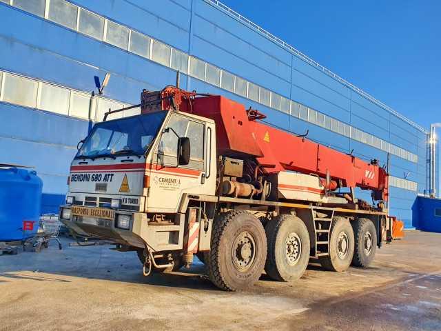 Продам Автокран 70 тонн Terex-Bendini