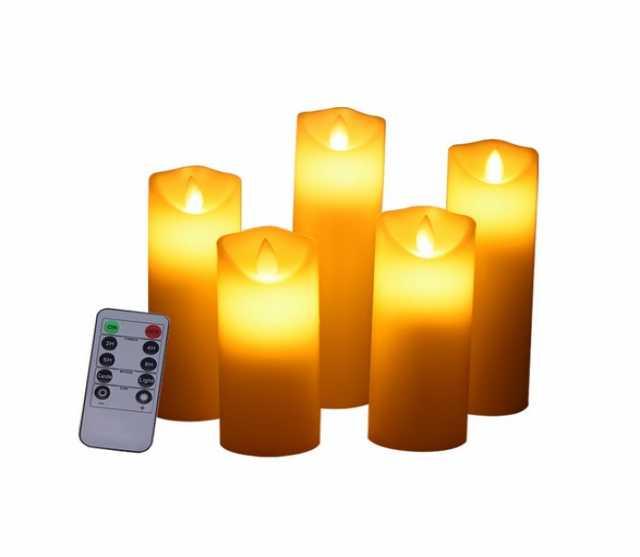 Продам Комплект светодиодных свечей с пультом S