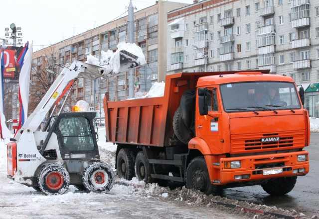 Предложение: Вывоз снега по Екатеринбургу. Сейчас!