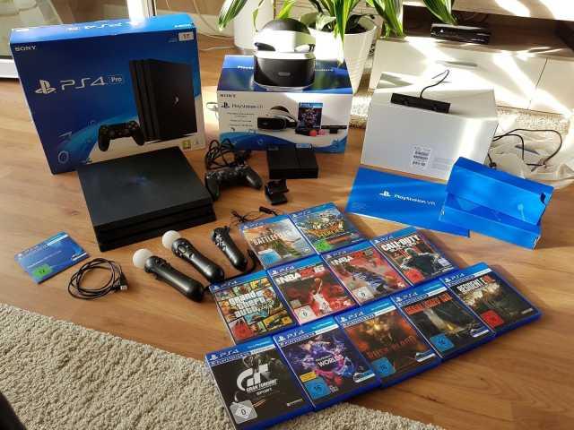 Продам: PlayStation 4 Pro 1TB 4K Jet Black