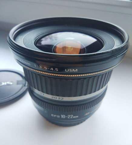 Продам Объектив Canon 10-22 mm f/3.5-4.5 USM