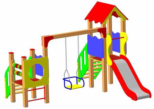 Продам Детские игровые площадки- производитель