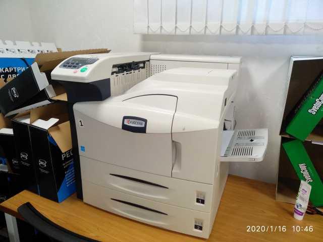 Продам: Лазерный принтер kyosera