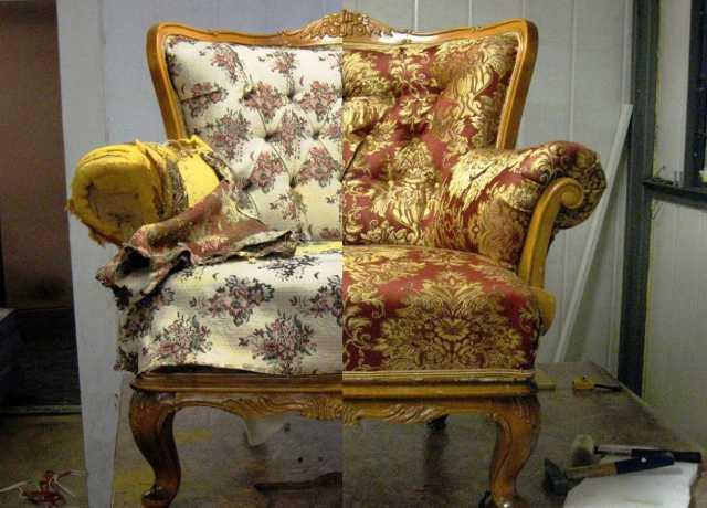 Предложение: Ремонт,Перетяжка мягкой мебели