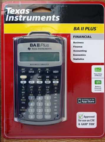 Продам: Финансовый калькулятор BA II Plus