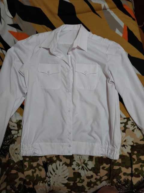 Продам Рубашка белая вмф длинный рукав