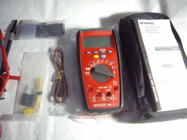 Продам: Цифровой Мультиметр BENNING MM 7-1