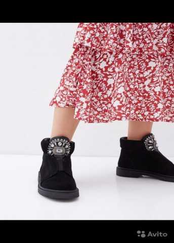 Продам: Ботинки pierre cardin натуральная замша