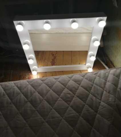 Продам: Гримёрное зеркало с лампами