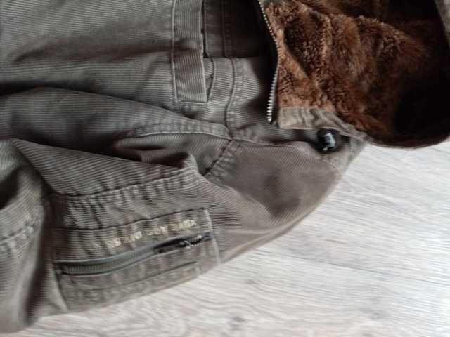 Продам: Вельветовая утепленная куртка