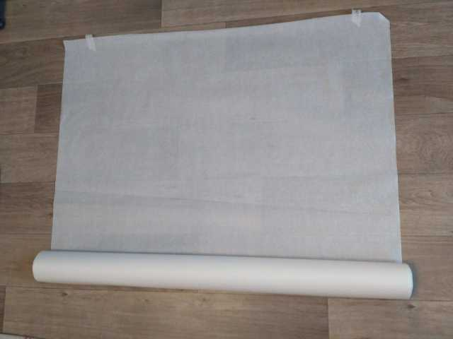 Продам Бумага пергаментная белая/крафт ширина 1