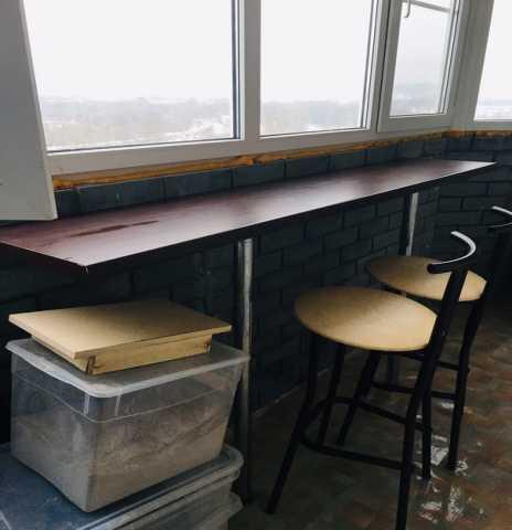 Продам: Барная стойка и 2 стула
