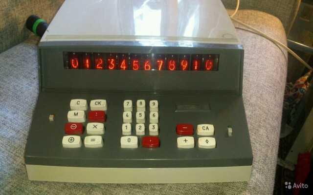 Продам Раритетный калькулятор ELCA 22 элка-22