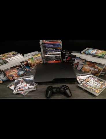 Продам: Sony PS3 с 50 играми и бесплатной достав