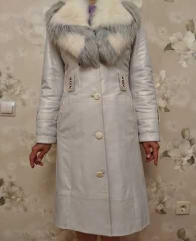 Продам: Шикарное кожаное пальто, демисезоннее