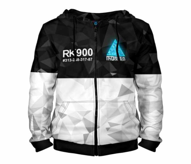 Продам Мужская толстовка 3D на молнии RK900 CON