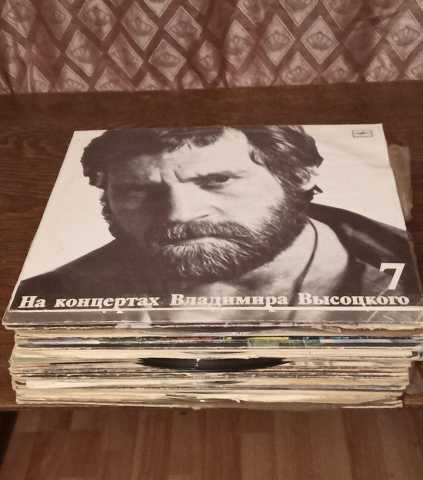 Продам Грампластинки с музыкой и сказками