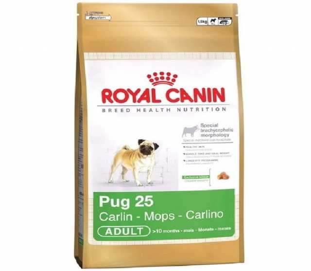 Продам: Корм сухой Royal Canin Pug Adult