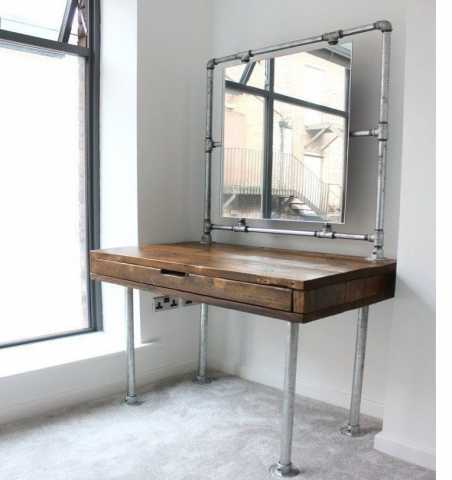 Продам зеркало лофт