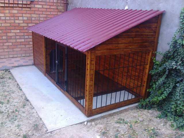 Продам Вольер и будки для собак