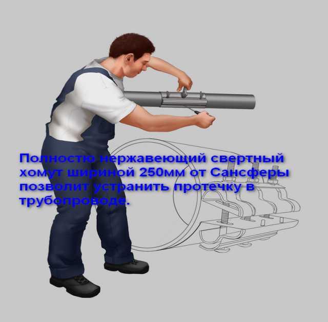 Продам Хомут ремонтный ГК Сансфера