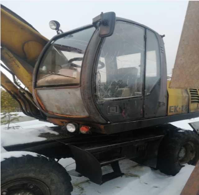 Продам: Экскаватор твекс ек-18