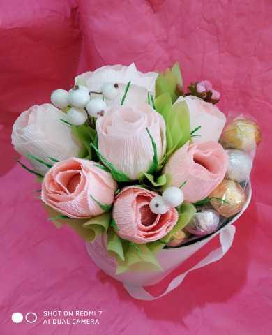 Продам Цветы из конфет