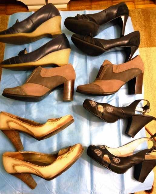 Продам Пакет обуви 38р. туфли кожа