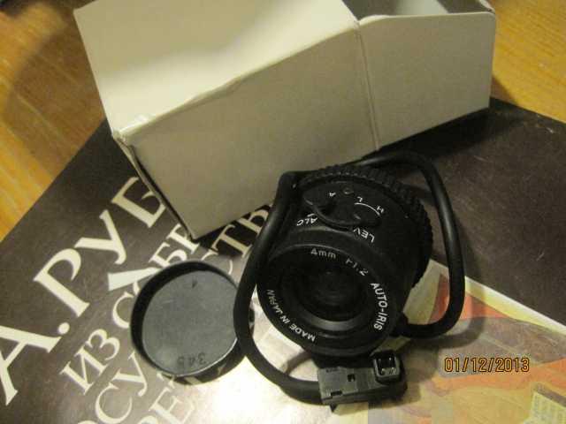 Продам Объектив для камеры наблюдения CS