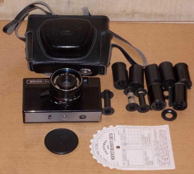 Продам Фотоаппарат Vilia СССР на запчасти