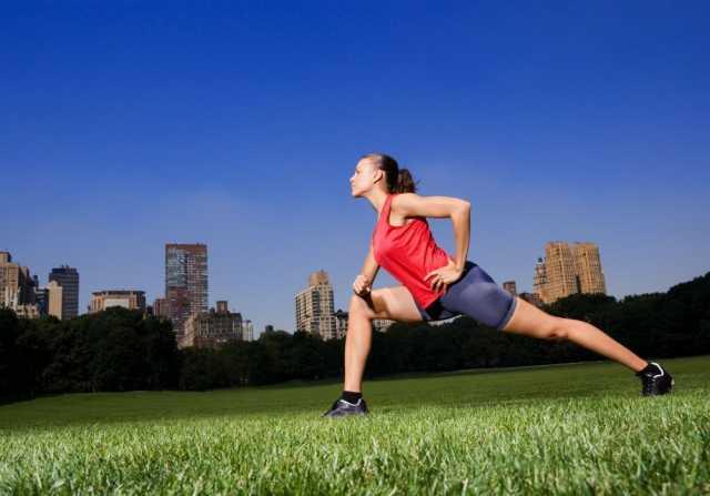 Предложение: Растяжка, тренировки на свежем воздухе