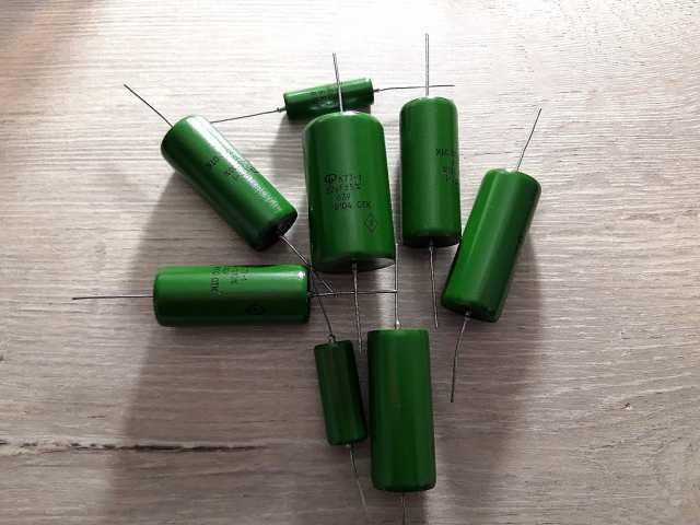 Продам конденсаторы К71-7в точные и К77-1
