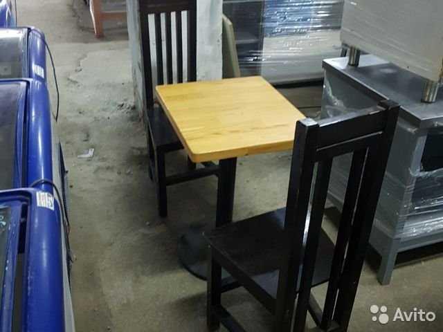 Продам Столы и стулья для кафе