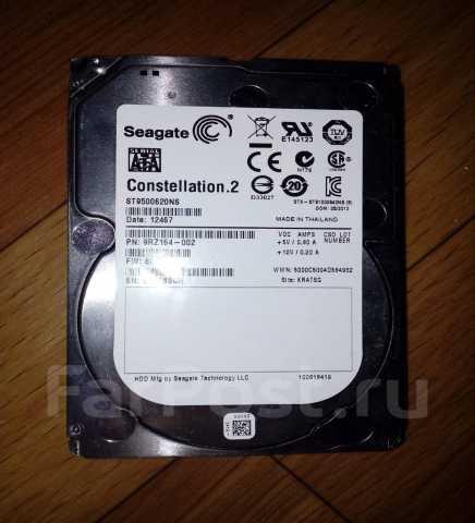 "Продам Жесткий диск 2,5"" 500 Гб Seagate ST95006"