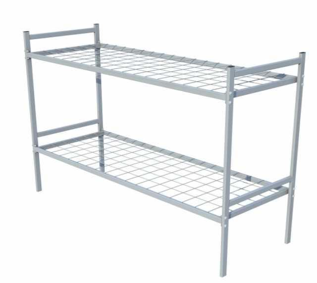 Продам Двухъярусные кровати металлические с ДСП