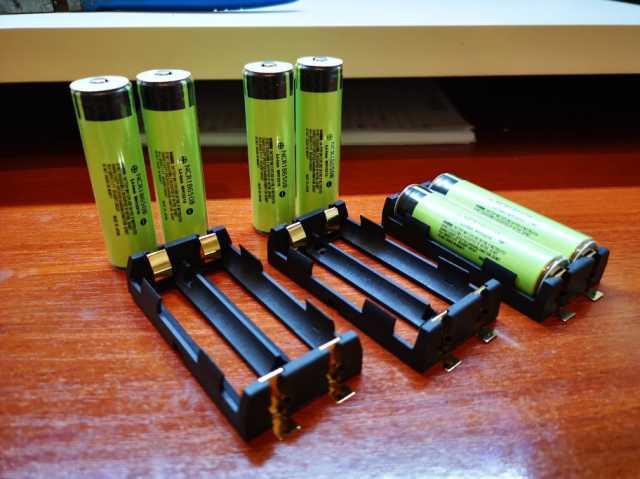 Продам: Батарейный отсек для 18650 аккумуляторов