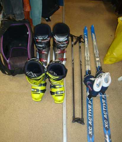 Продам: Горнолыжные ботинки fisher/rossignol лыж